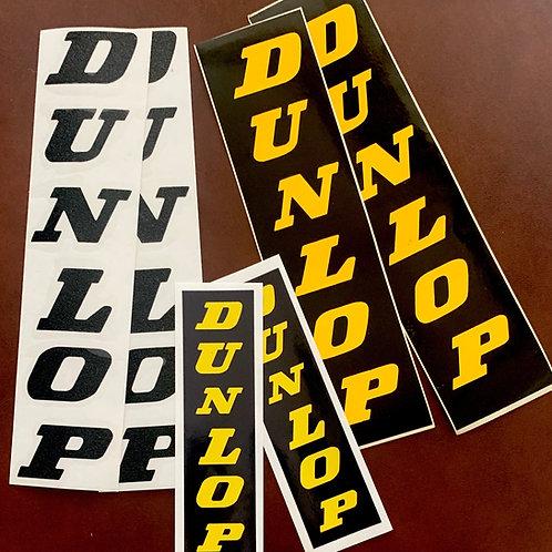 Adhesivos Letras Dunlop