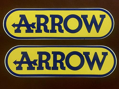 adhesivo moto Arrow