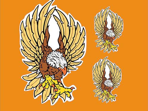 adhesivos decoración águila