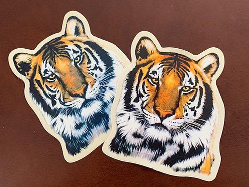 adhesivo decoración Tigre