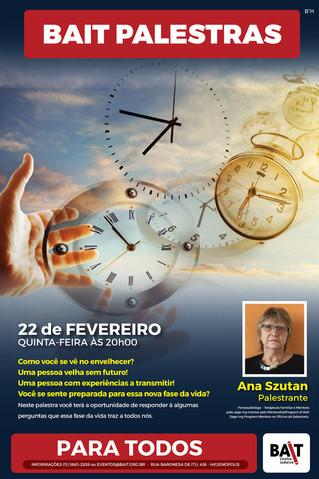Palestra com Ana Szutan