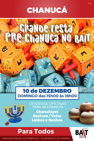 Festa Pré Chanucá