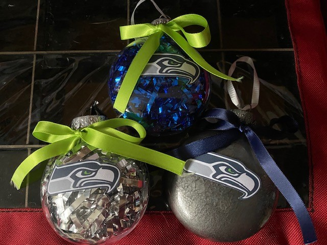 Seahawks Ornaments