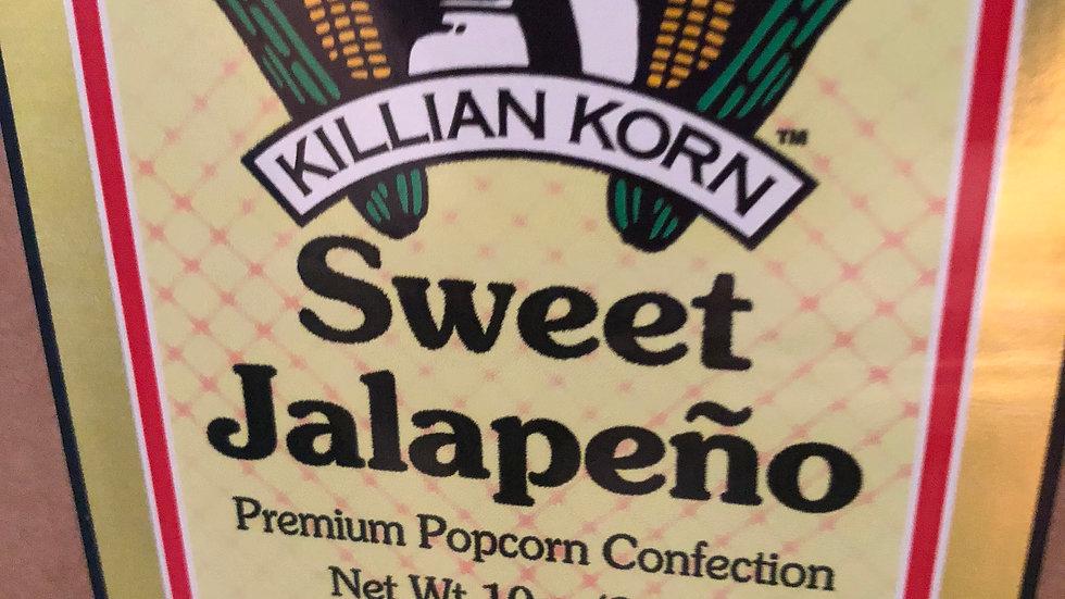 Sweet Jalapeno Popcorn