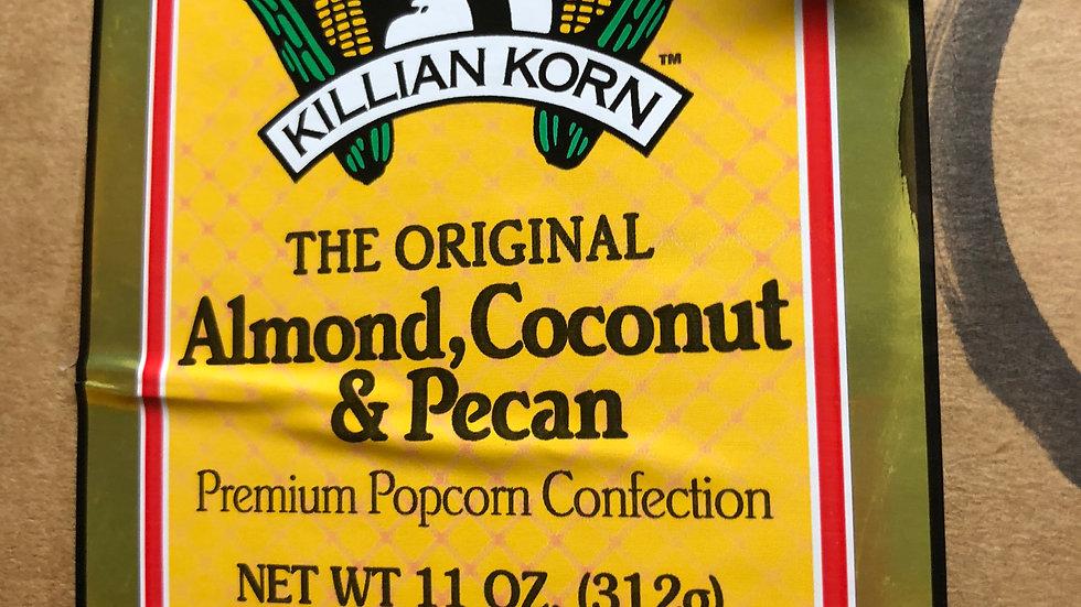 Almond, Coconut, Pecan Popcorn