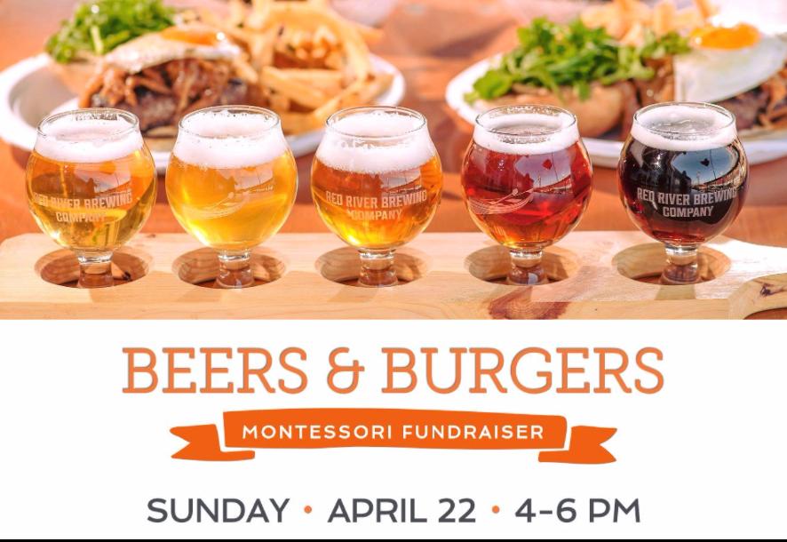 Beers & Burgers Montessori Fundraiser