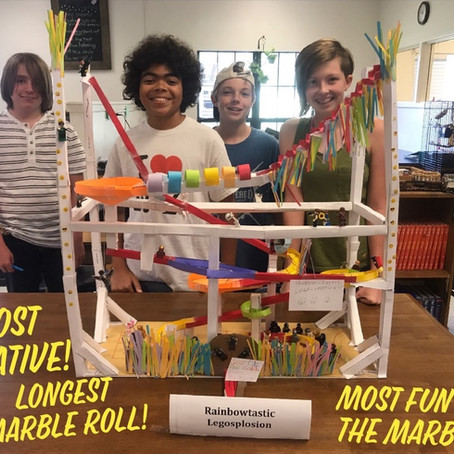 Project Spotlight - Paper Roller Coaster Marble Madness!