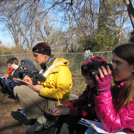 Bird Watching at the Outdoor Classroom