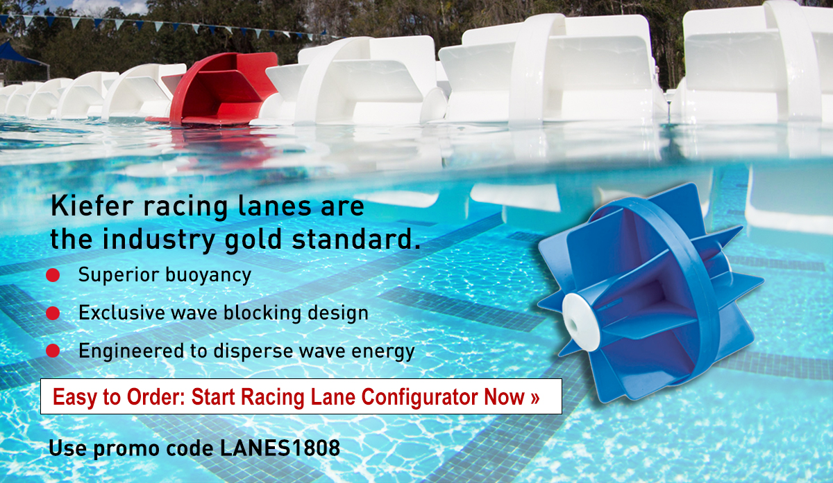 Digital ad to inform of racing lanes