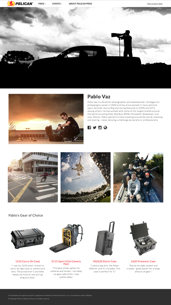 Profile Site Pelican.com