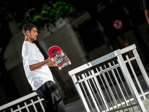 Tiago Lemos para a Tribo Skate