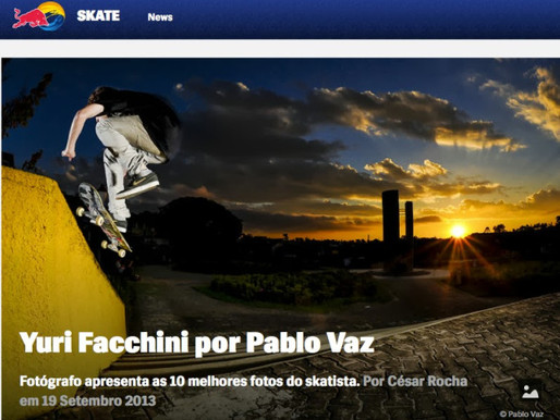 Yuri Facchini no site da Red Bull