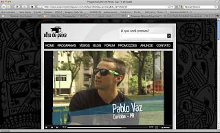 Um dia com Pablo Vaz