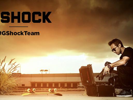 Bem-vindo a bordo G-Shock