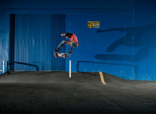 Wagner Ramos para a Kronik Skateboards