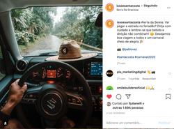 Instagram @issoesantacosta