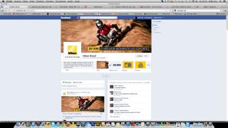 Foto na capa da FanPage Nikon