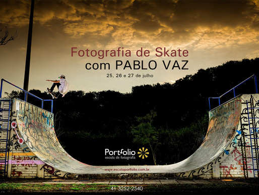 Workshop Fotografia de Skate em Curitiba