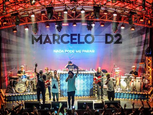 Marcelo D2 no Circo Voador / RJ #nadapodemeparar