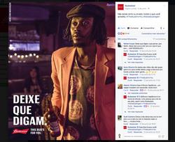 Budweiser Rincón Sapiência
