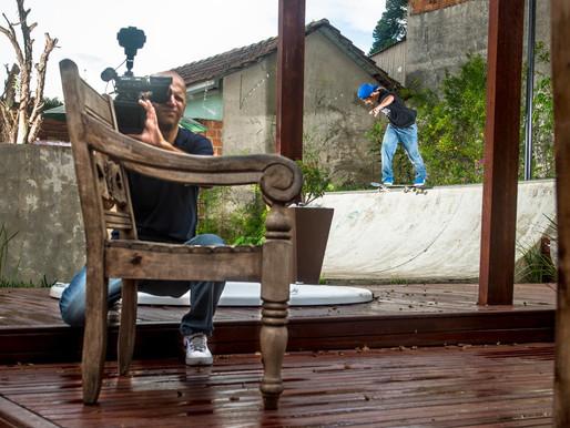 Fotografia de Skate no Gaz+ da ÓTV