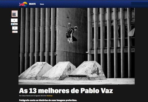 """As 13 """"melhores"""" no site da Red Bull"""