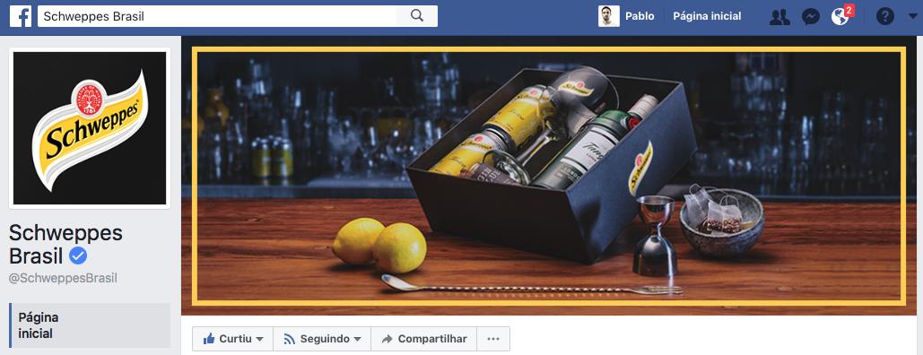 Facebook Schweppes