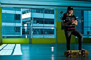 Skate feminino
