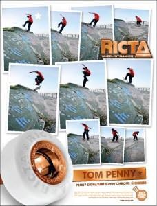 Anúncio com Tom Penny