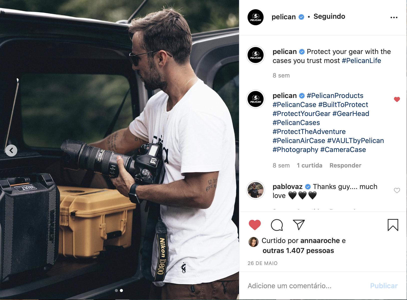 Instagram @Pelican