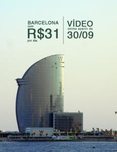 Öus – Barcelona com R$31 por dia