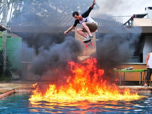 Complexo aquático de Skate