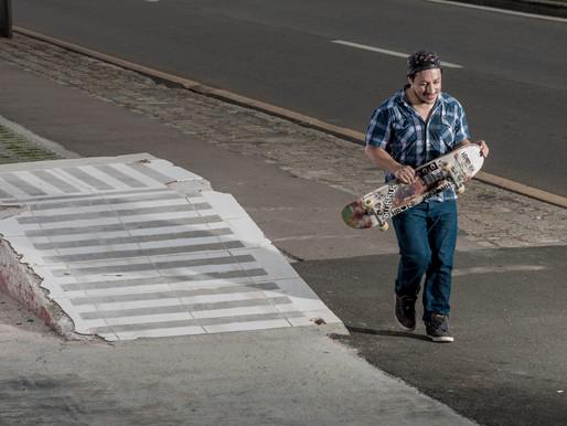 Carlos de Andrade para a Code Skateboard