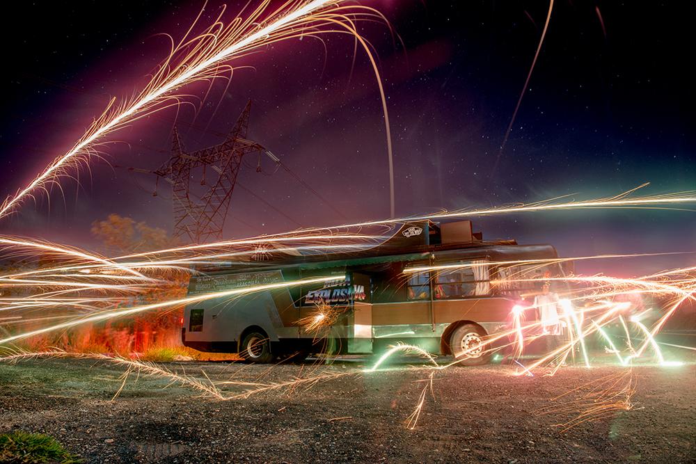 MTV Rota Explosiva Bus