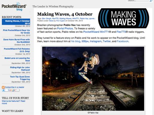 Making Waves Pocket Wizard