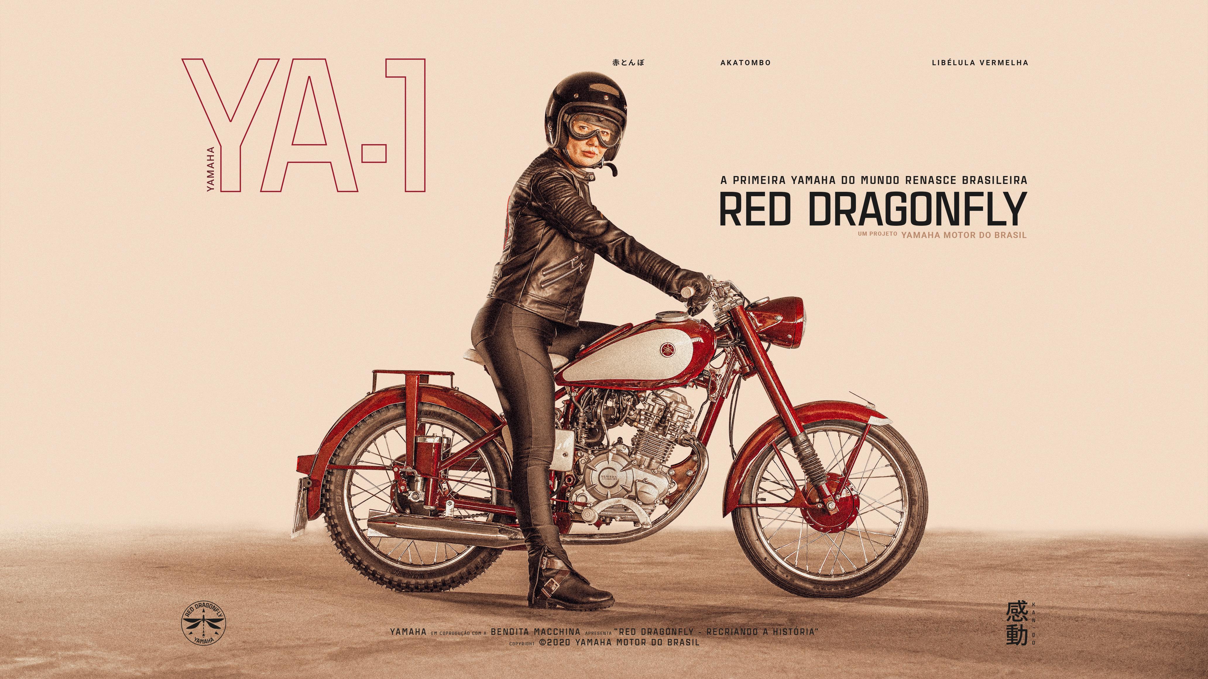 Yamaha Brasil 50 anos | Red Dragonfly