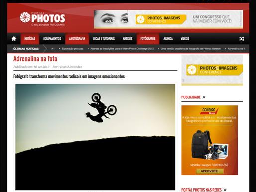 Portal Photos: Adrenalina na foto