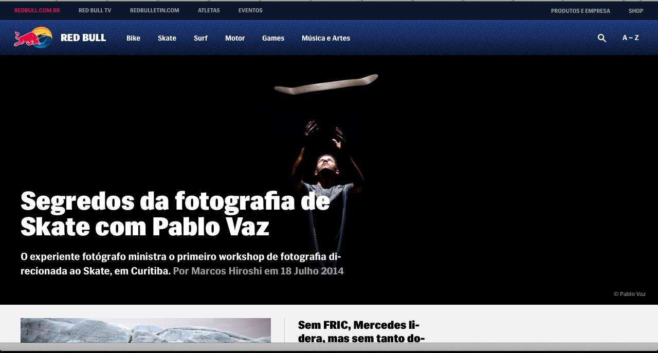Entrevista Site Red Bull BR