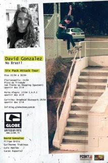 David Gonzalez no Brasil