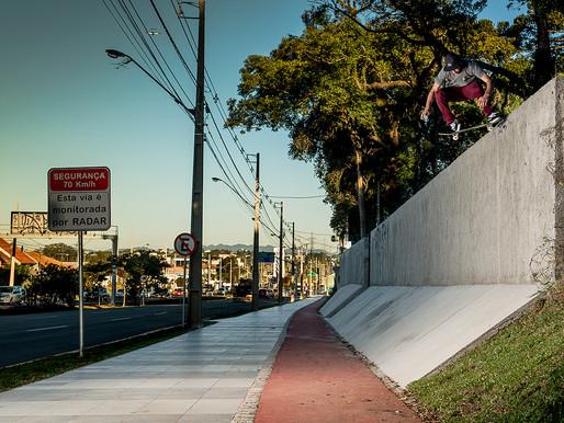Evandro Gringo para a SantaCruz Skateboards