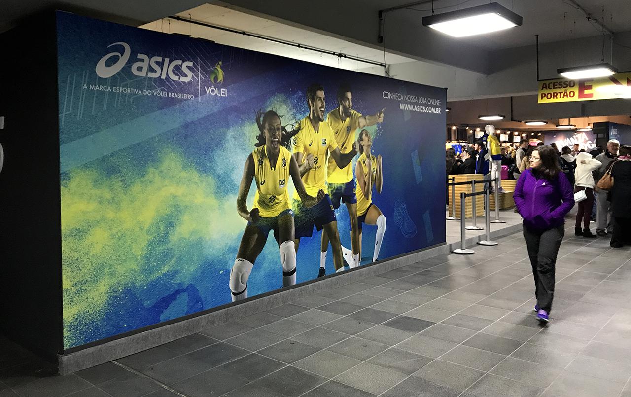 Asics Seleção Brasileira de Vôlei
