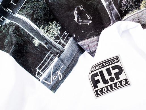 Collab Flip Skateboards Brasil