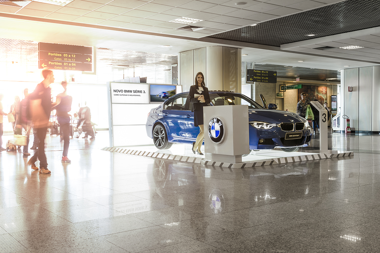 BMW Stand Aeroporto Congonhas