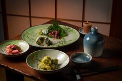 金彩まめの木紋食器シリーズ