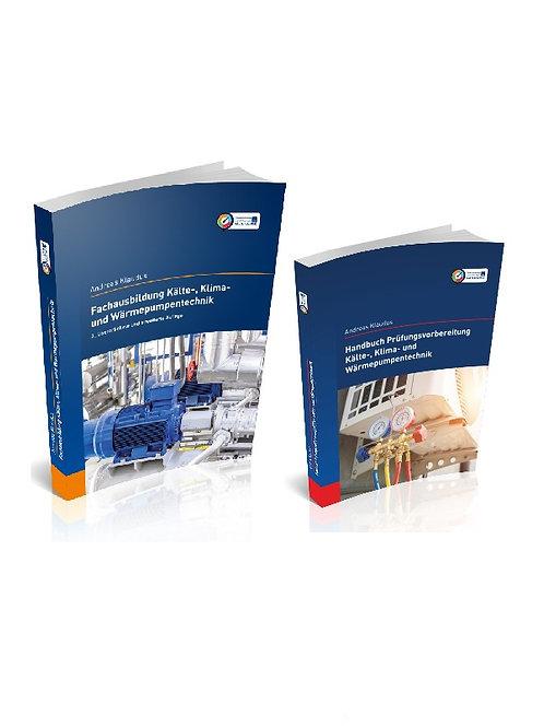 Fachausbildung und Handbuch Prüfungsvorbereitung Kältetechnik (Set)
