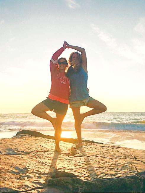 Claire Yoga Pose