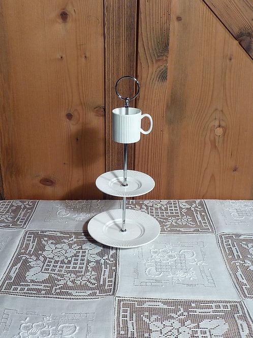 3er m. Espressotasse weiss mini Nr. 53
