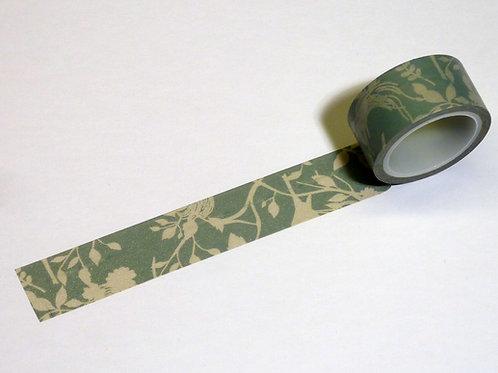Blumenband pastellgrau WT-#3076