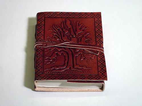 Notizbuch Leder Tree of Life mini