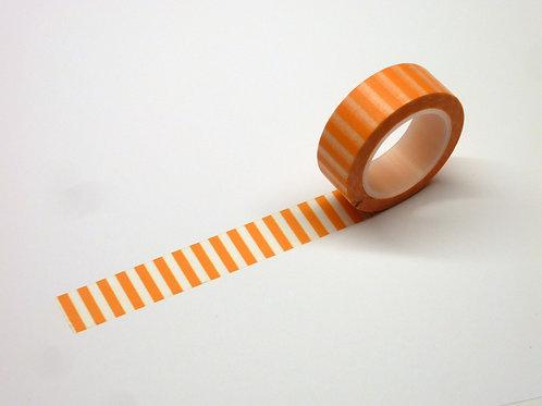 Stripes quer orange WT-#1236